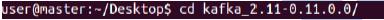 do cd command: