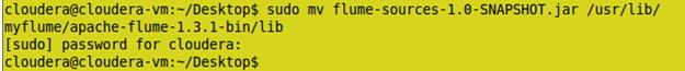 Hadoop flume tutorial