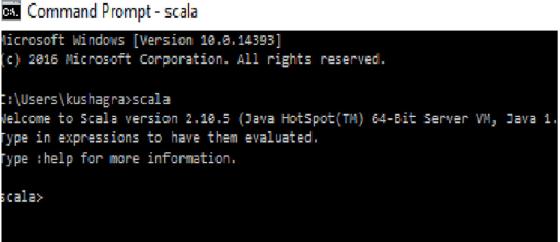 Apache Spark Scala Installation