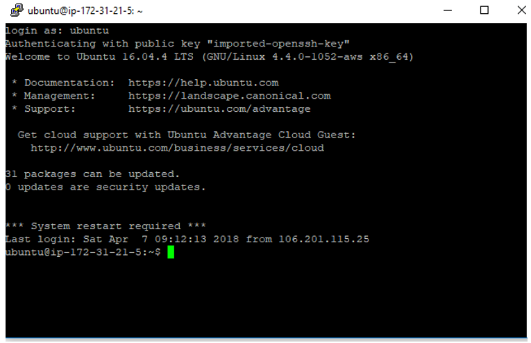Apache Hadoop Installation on AWS