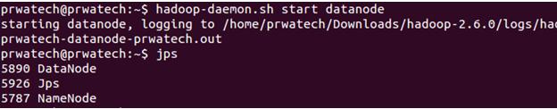Hadoop cluster upgrade - start data node