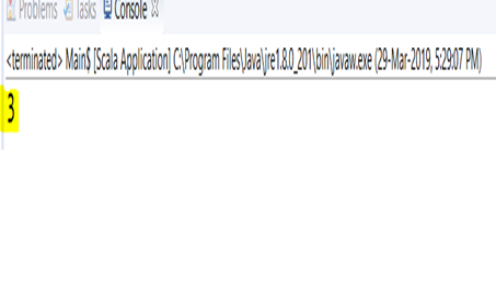 Apache Spark Scala command using IDE