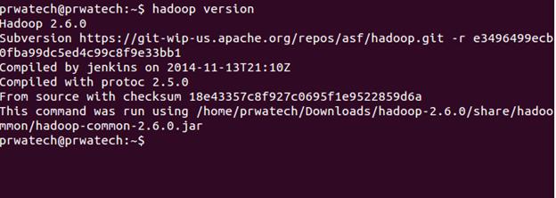 Hadoop cluster upgrade - check hadoop version