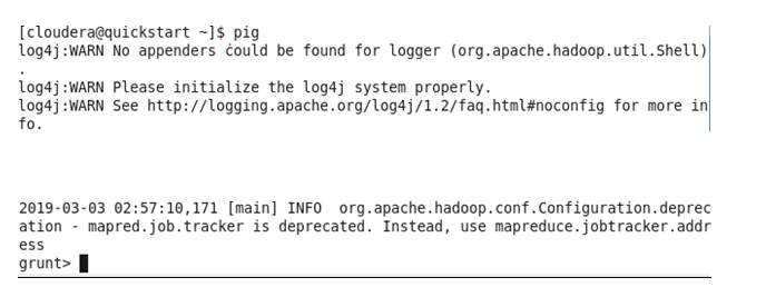 Hadoop Basic PIG Commands with Examples