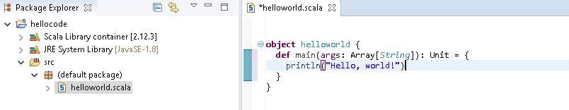 Apache Spark - Scala command using IDE - Prwatech