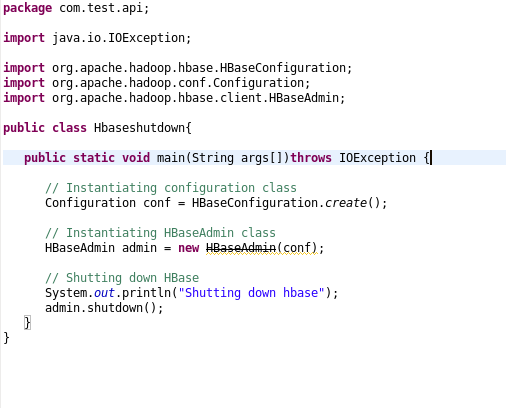 Hadoop Hbase configuration using Eclipse | Prwatech