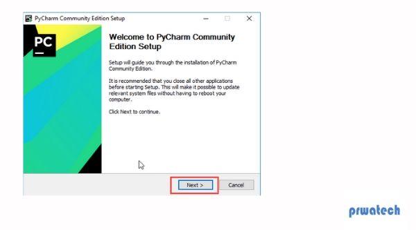 Pycharm IDE for Python Installation