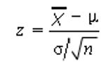 z- score formula
