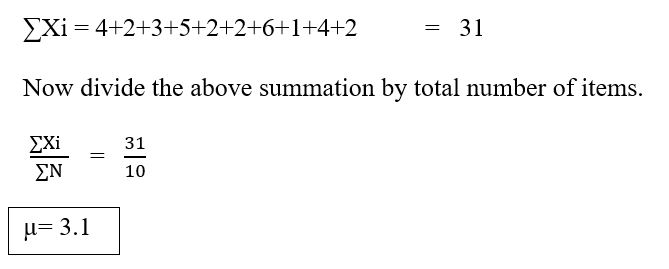 standard deviation example