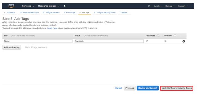 Steps To Launch An Amazon EC2 Instance