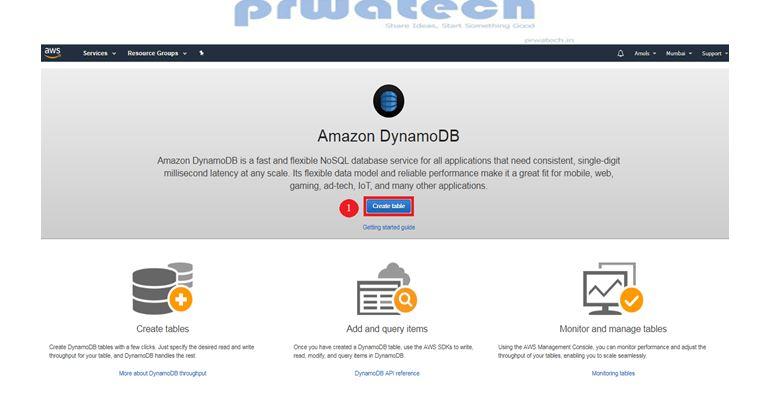 Get started with Amazon DynamoDB