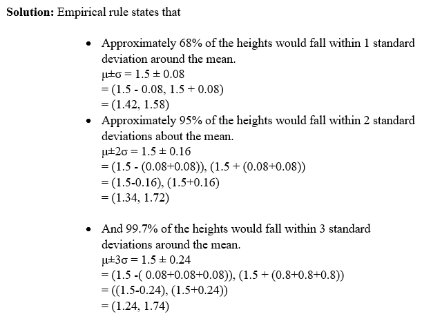 empirical rule example