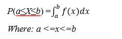 Probability density function formula