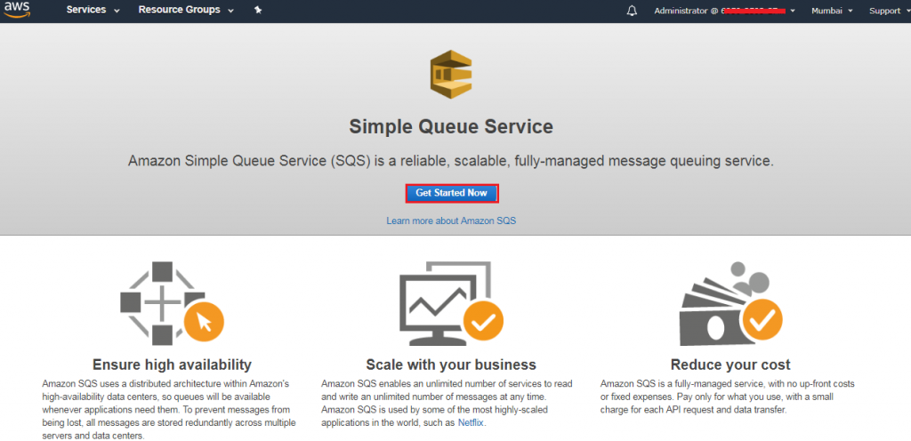 Getting Started with Amazon Simple Queue Service