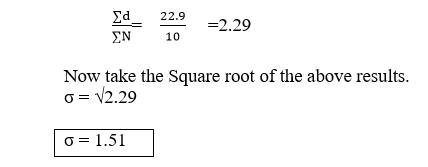 standard deviation example calculation