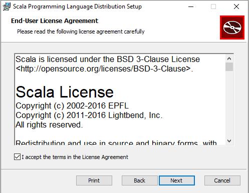 scala license