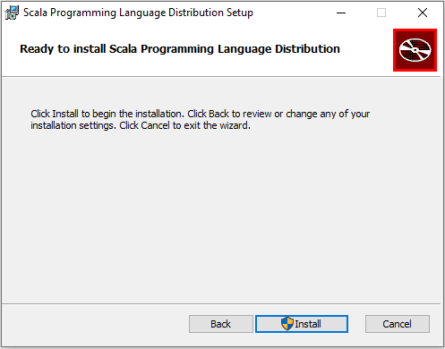 ready to install scala programing language distribution