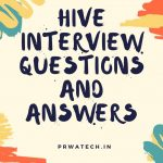 Hive interview questions and answers