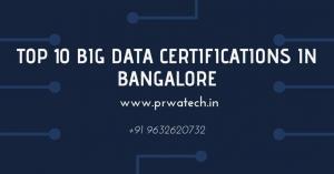 top 10 big data certifications in bangalore